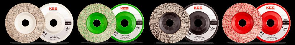 KGS Hybrid Flap Discs