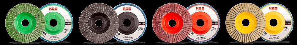KGS Hybrid-T Flap Discs
