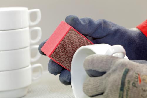 KGS Telum Handpad 90x55 RD-200 Porcelain tableware