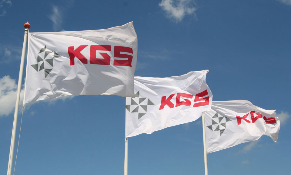 KGS Flags for Quality and Service
