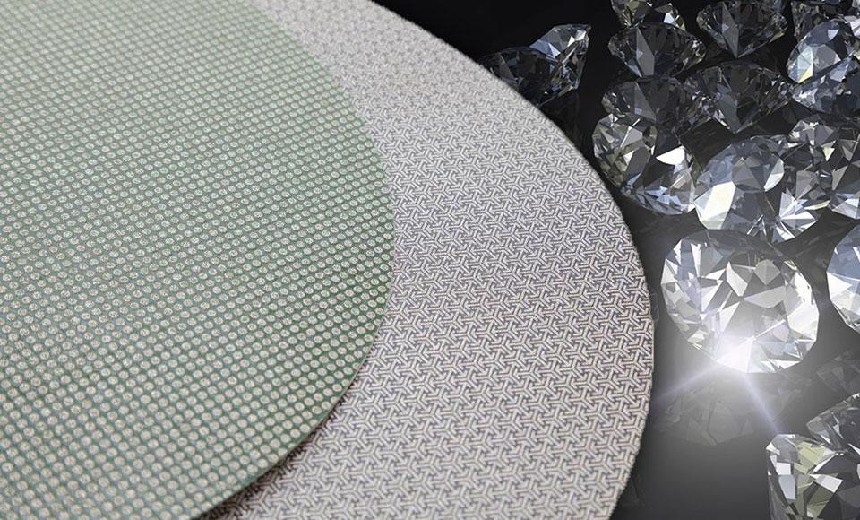 KGS Hybrid/® T Diamant F/ächerscheiben TROCKENSCHLIFF