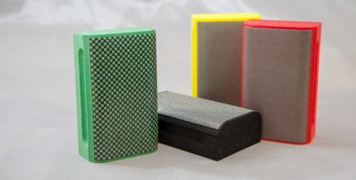 KGS Flexis hand sanding block curved