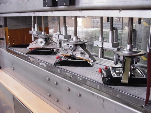 Lippert machine Porcelain diamond belt grinder