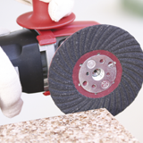KGS Semi-flexible Abrasive Discs for manual grinding applications.