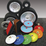 Accessories for discs, belts etc.